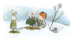 エルンスト・クライドルフ – はじめの花 (Blumen Maerchenより)のサムネイル画像