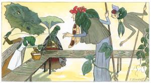エルンスト・クライドルフ – やさい市場 (Blumen Maerchenより)のサムネイル画像