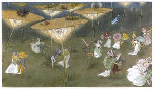 エルンスト・クライドルフ – 舞踏会 (Blumen Maerchenより)のサムネイル画像