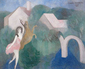 マリー・ローランサン – ディアナ (マリー・ローランサンとその時代展 巴里に魅せられた画家たちより)のサムネイル画像