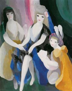 マリー・ローランサン – マリー・ド・メディシス (マリー・ローランサンとその時代展 巴里に魅せられた画家たちより)のサムネイル画像