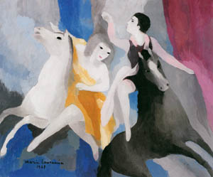 thumbnail Marie Laurencin – Acrobats or Circus' Women [from Marie Laurencin and her Era: Artists attracted to Paris]
