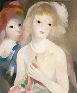 マリー・ローランサン – らっぱをもって (マリー・ローランサンとその時代展 巴里に魅せられた画家たちより)のサムネイル画像