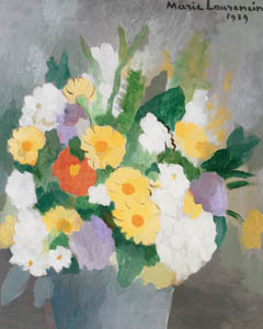 thumbnail Marie Laurencin – Bouquet of Flowers [from Marie Laurencin and her Era: Artists attracted to Paris]