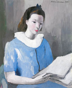 thumbnail Marie Laurencin – Suzanne Moreau in Blue [from Marie Laurencin and her Era: Artists attracted to Paris]