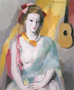 マリー・ローランサン – 音楽 (マリー・ローランサンとその時代展 巴里に魅せられた画家たちより)のサムネイル画像