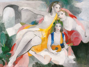 thumbnail Marie Laurencin – Three Young Women [from Marie Laurencin and her Era: Artists attracted to Paris]