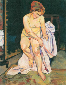 thumbnail Suzanne Valadon – Sitting Nude [from Marie Laurencin and her Era: Artists attracted to Paris]