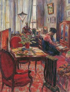 児島虎次郎 – 室内 (マリー・ローランサンとその時代展 巴里に魅せられた画家たちより)のサムネイル画像