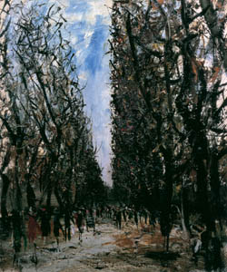thumbnail Yuzo Saeki – Luxembourg Park [from Marie Laurencin and her Era: Artists attracted to Paris]