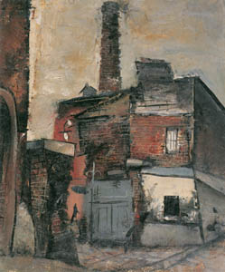 thumbnail Yuzo Saeki – Factory [from Marie Laurencin and her Era: Artists attracted to Paris]