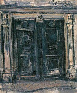 thumbnail Yuzo Saeki – Door [from Marie Laurencin and her Era: Artists attracted to Paris]