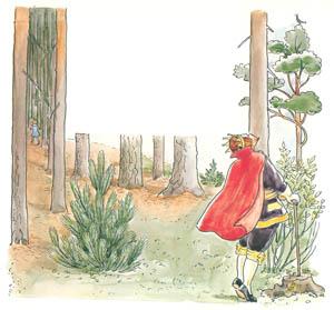エルサ・ベスコフ – 挿絵5 (おうじょさまのぼうけんより)のサムネイル画像