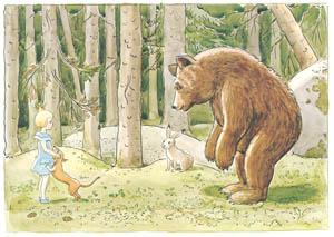 エルサ・ベスコフ – 挿絵10 (おうじょさまのぼうけんより)のサムネイル画像