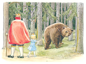 thumbnail Elsa Beskow – Plate 12 [from Princess Sylvie]