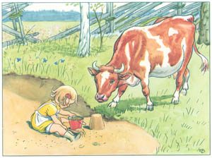エルサ・ベスコフ – 挿絵6 (おりこうなアニカより)のサムネイル画像