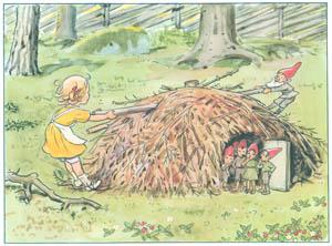 エルサ・ベスコフ – 挿絵8 (おりこうなアニカより)のサムネイル画像