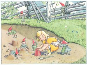 エルサ・ベスコフ – 挿絵9 (おりこうなアニカより)のサムネイル画像