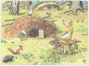 エルサ・ベスコフ – 挿絵10 (おりこうなアニカより)のサムネイル画像