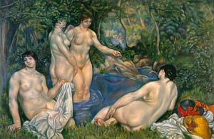 thumbnail Yasui Sōtarō – Naked Bathing Women [from Sōtarō Yasui: the 100th anniversary of his birth]