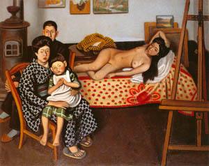 安井曾太郎 – 画室 (生誕百年記念 安井曽太郎展より)のサムネイル画像