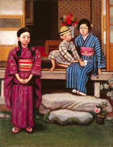 安井曾太郎 – 初夏 (生誕百年記念 安井曽太郎展より)のサムネイル画像