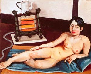 安井曾太郎 – 裸婦 (生誕百年記念 安井曽太郎展より)のサムネイル画像