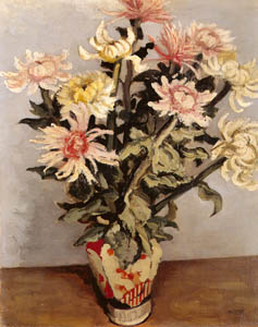 thumbnail Yasui Sōtarō – Chrysanthemum [from Sōtarō Yasui: the 100th anniversary of his birth]