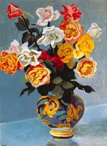 thumbnail Yasui Sōtarō – Roses [from Sōtarō Yasui: the 100th anniversary of his birth]
