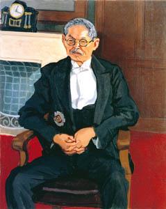 thumbnail Yasui Sōtarō – Portrait of prof. Honda [from Sōtarō Yasui: the 100th anniversary of his birth]