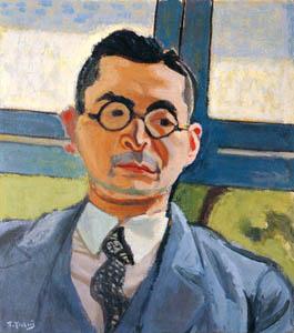 thumbnail Yasui Sōtarō – Portrait of Mr. Matsubara [from Sōtarō Yasui: the 100th anniversary of his birth]