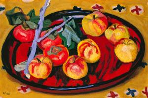 thumbnail Yasui Sōtarō – Fruits [from Sōtarō Yasui: the 100th anniversary of his birth]