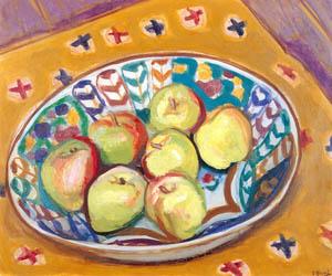 thumbnail Yasui Sōtarō – Apples [from Sōtarō Yasui: the 100th anniversary of his birth]