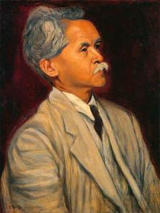 thumbnail Yasui Sōtarō – Portrait of Mr. Nosei Abe [from Sōtarō Yasui: the 100th anniversary of his birth]