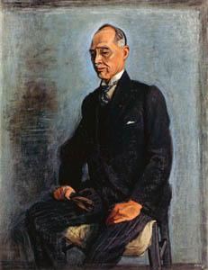 thumbnail Yasui Sōtarō – Portrait of Kuniyuki Tokugawa [from Sōtarō Yasui: the 100th anniversary of his birth]