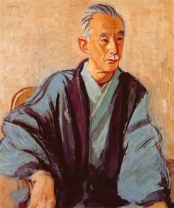 thumbnail Yasui Sōtarō – Portrait of Toyotaka Komiya [from Sōtarō Yasui: the 100th anniversary of his birth]