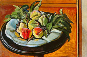 thumbnail Yasui Sōtarō – Peaches on a Dutch Dish [from Sōtarō Yasui: the 100th anniversary of his birth]