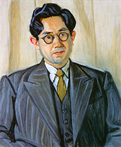 thumbnail Yasui Sōtarō – Portrait of Ōhara [from Sōtarō Yasui: the 100th anniversary of his birth]