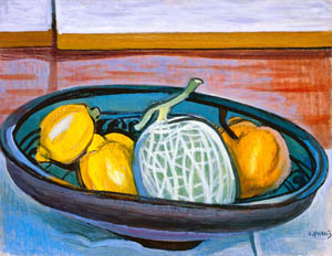 thumbnail Yasui Sōtarō – Lemon and Melon [from Sōtarō Yasui: the 100th anniversary of his birth]