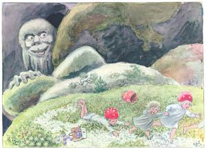 エルサ・ベスコフ – 挿絵6 (もりのこびとたちより)のサムネイル画像