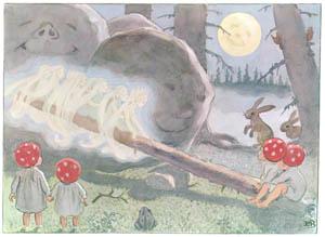エルサ・ベスコフ – 挿絵9 (もりのこびとたちより)のサムネイル画像