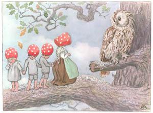 エルサ・ベスコフ – 挿絵10 (もりのこびとたちより)のサムネイル画像