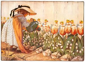 ジェシー・ウィルコックス・スミス – へそ曲がりのメリー (マザー・グースより)のサムネイル画像