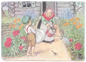 エルサ・ベスコフ – 挿絵3 (ペレのあたらしいふくより)のサムネイル画像