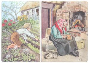 エルサ・ベスコフ – 挿絵4 (ペレのあたらしいふくより)のサムネイル画像
