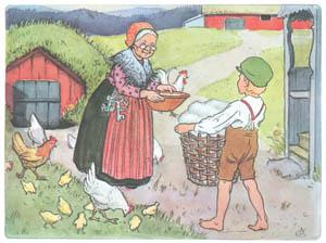 エルサ・ベスコフ – 挿絵5 (ペレのあたらしいふくより)のサムネイル画像