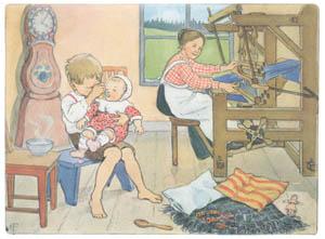 エルサ・ベスコフ – 挿絵10 (ペレのあたらしいふくより)のサムネイル画像