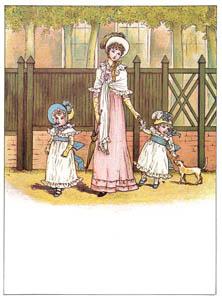 ケイト・グリーナウェイ – おばあさまに会いに (マリーゴールド・ガーデンより)のサムネイル画像
