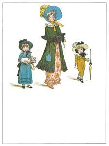 ケイト・グリーナウェイ – おばあさまとお出かけ (マリーゴールド・ガーデンより)のサムネイル画像
