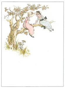 thumbnail Kate Greenaway – IN AN APPLE TREE [from Marigold Garden]